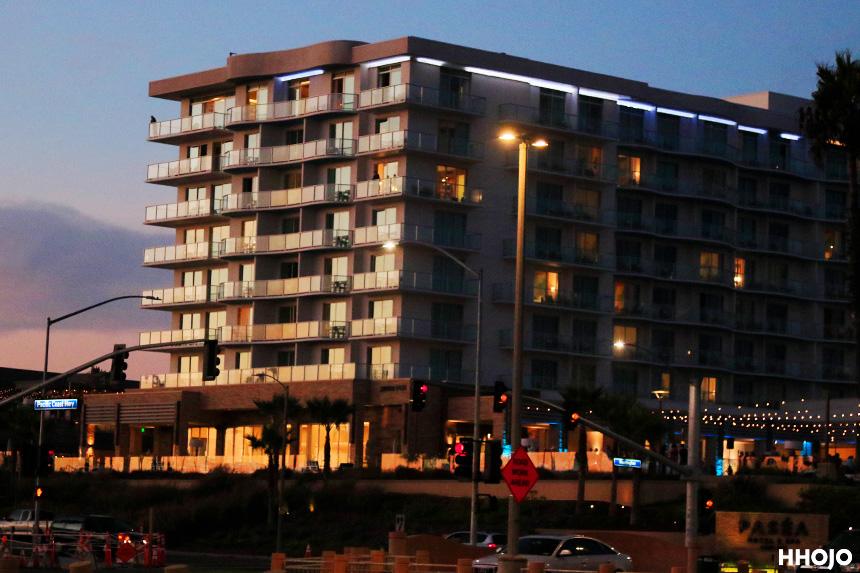 ハンティントンビーチのヒルトンホテル画像
