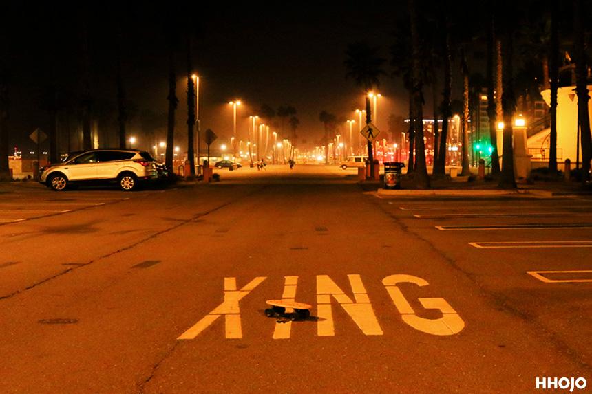 ハンティントンビーチ駐車場画像
