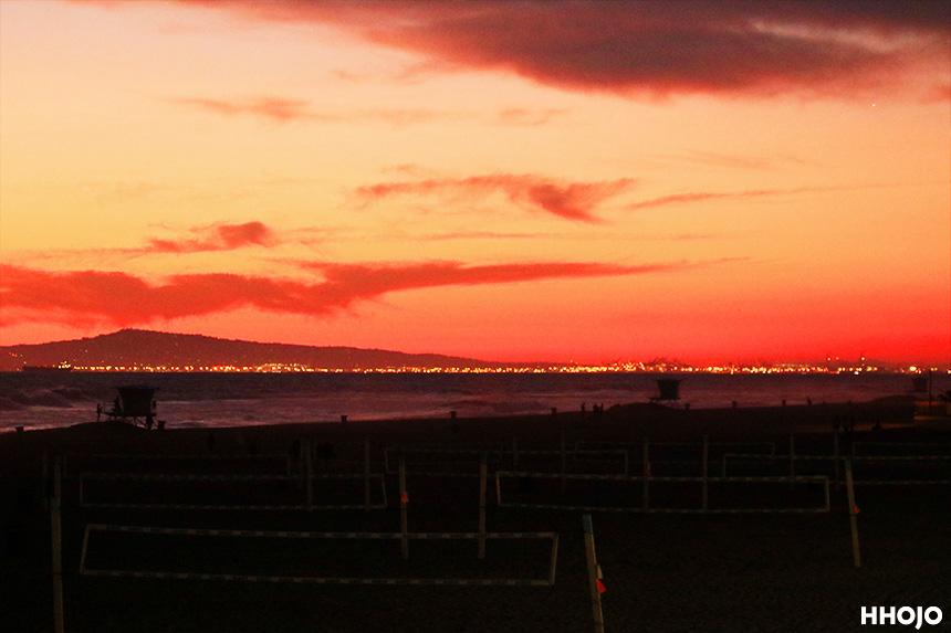 桟橋からの眺め画像