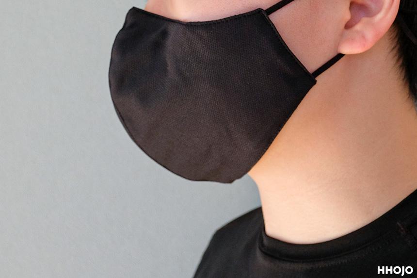 アウトドアリサーチマスク着用イメージ